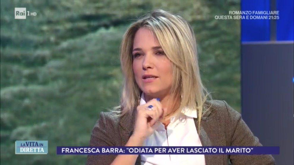 Francesca Barra e gli insulti sui social: