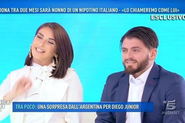 """Diego Armando Maradona Jr: """"Tra due mesi arriverà il piccolo Diego Matias�"""