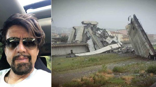 Ponte crollato a Genova, Valerio Staffelli testimone: «Un fulmine lo ha colpito prima del crollo»