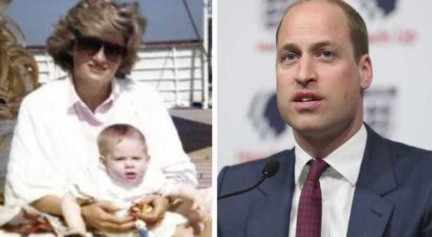 Lady Diana, la confessione del principe William alla Bbc: «La sua morte un dolore senza pari»