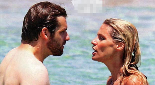 Michelle Hunziker e Tomaso Trussardi, scoppia la lite durante le vacanze