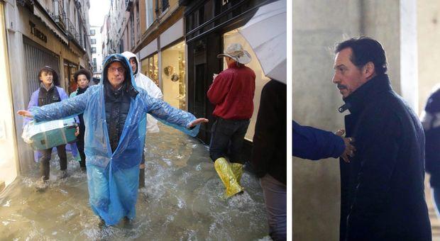 Venezia, il sindaco Brugnaro blocca Stefano Accorsi a San Marco: niente ciak del film