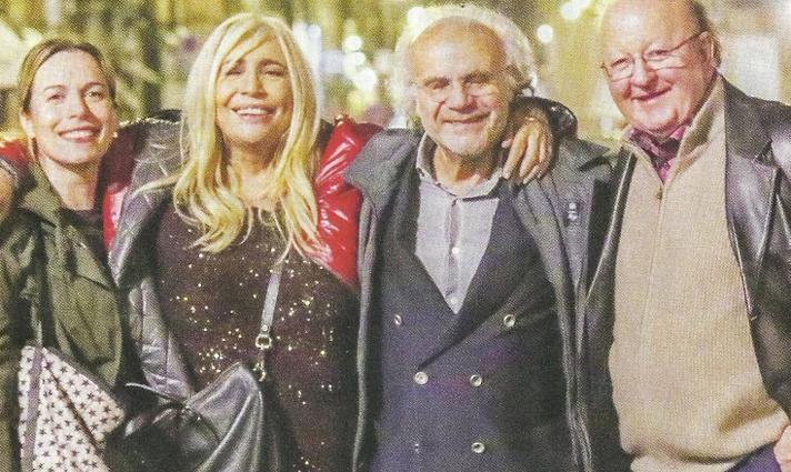 Mara Venier e Jerry Calà serata