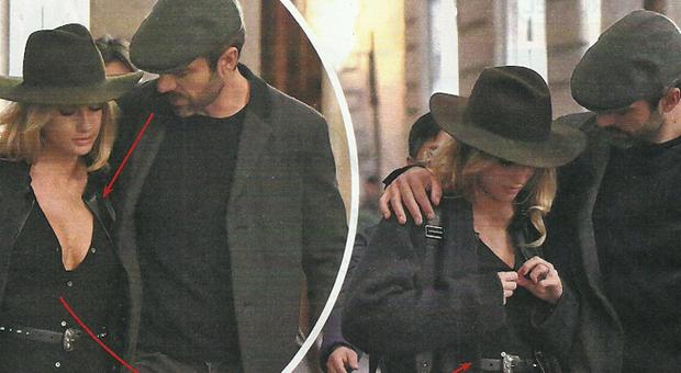 Cristina Marino décolleté troppo hot: Luca Argentero la bacchetta e lei si abbottona la camicia