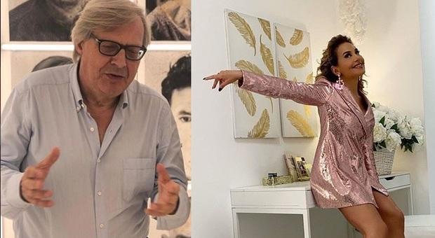 Live non è la D'Urso: Vittorio Sgarbi insulta pesantemente in diretta Barbara D'Urso, choc in studio