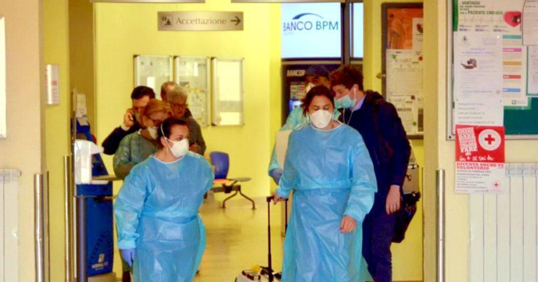 Coronavirus, infermiere dall'ospedale di Codogno: «Non è vero che è tutto sotto controllo, qui è il panico assoluto»