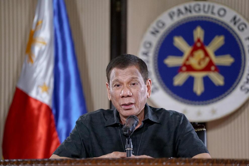 Coronavirus, il presidente filippino ordina: «Sparare a vista a chi viola la quarantena»