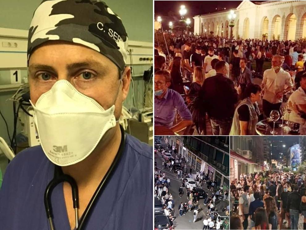 Coronavirus e movida, l'anestesista milanese: «Non voglio rivivere gli ultimi tre mesi per colpa dei cretini»