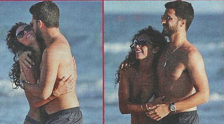 Raffaella Fico, vacanze col nuovo fidanzato Giulio Fratini: «Ha tutto quello che mi piace in un uomo»