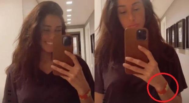 Belen Rodriguez incinta per la seconda volta, il dettaglio nella foto lascia pochi dubbi