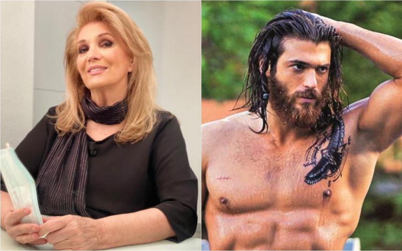 Iva Zanicchi scatenata: anche lei è pazza dell'attore-sex symbol Can Yaman