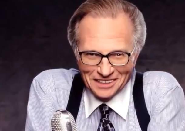 Larry King morto di Covid, il conduttore americano era ricoverato da un mese