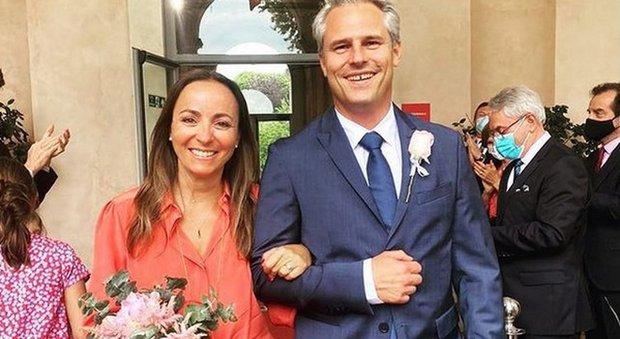 Camila Raznovich si è sposata col fidanzato Loic Fleurye: le foto social delle nozze
