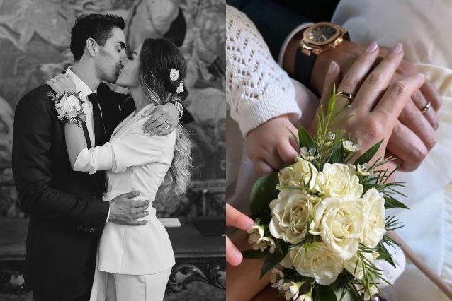 Giorgia Palmas e Filippo Magnini si sono sposati in segreto, ecco le foto. «Siamo marito e moglie davvero!»