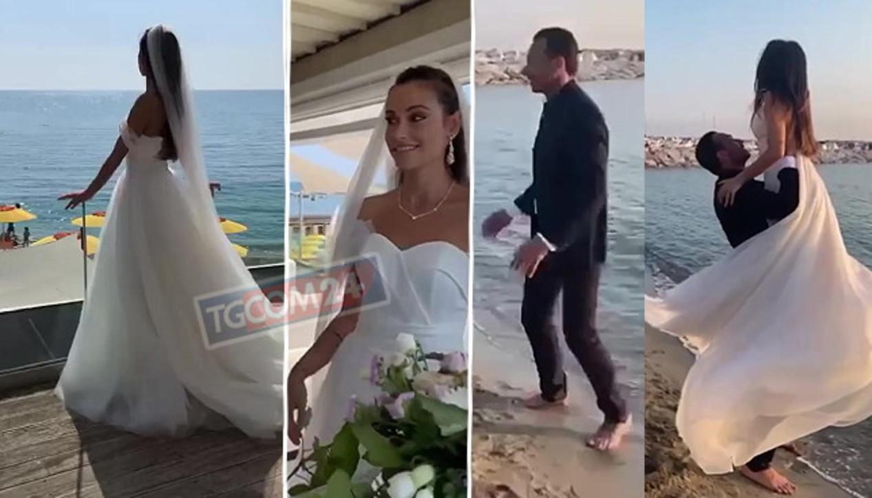 Costantino Vitagliano si sposa, il sì in riva al mare ma...