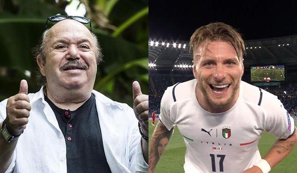 """Lino Banfi: «""""Porca pu**ena� lo slogan di Euro 2020. Immobile e Insigne mi hanno commosso. A Mancini ho svelato il segreto del 5-5-5»"""