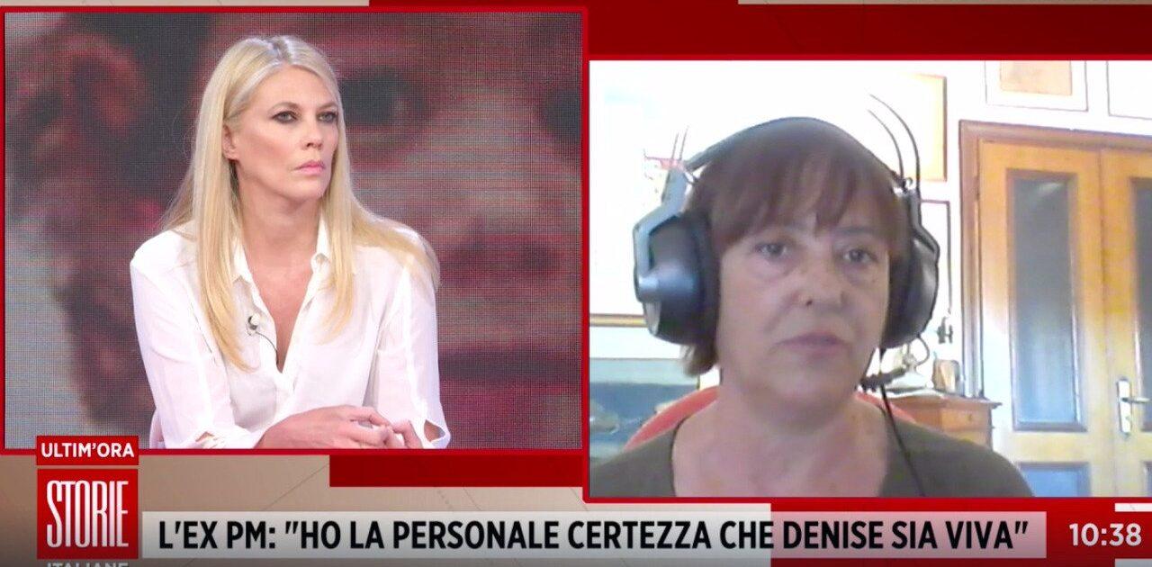 Denise Pipitone, la rivelazione choc a Storie Italiane dell'ex pm: «Ho trovato anche sua figlia, sono certa che lei sia viva»