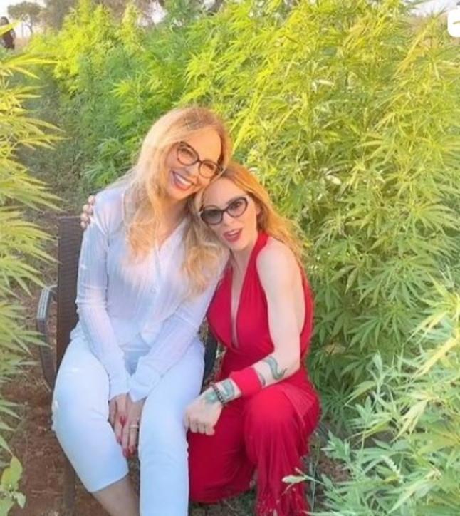 Ornella Muti e la figlia Naike lanciano prodotti realizzati con la cannabis