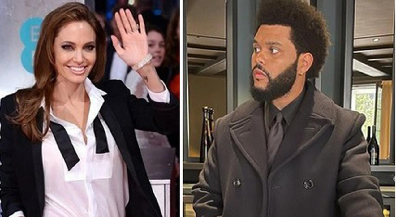 Angelina Jolie dopo Brad Pitt, eccola insieme a The Weeknd: terzo appuntamento