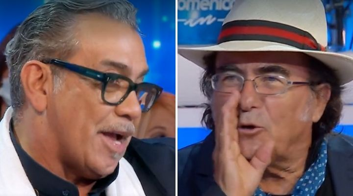Domenica In, resa dei conti tra Al Bano e Guillermo Mariotto dopo Ballando: «Potevi restare in Venezuela...»
