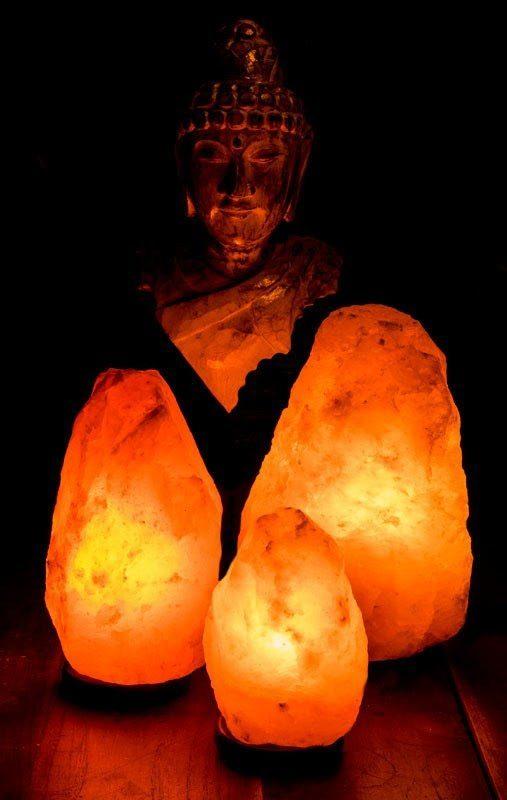 Perché avere in casa una lampada di sale dell'Himalaya?!