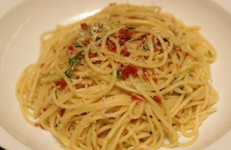 Spaghetti agli Odori gustosi