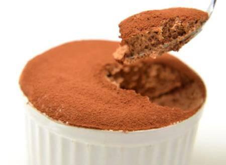 Mousse di cioccolato al Grand Marnier
