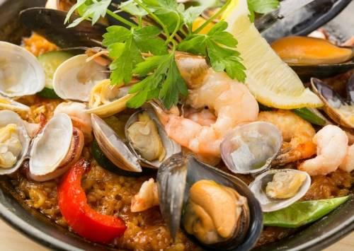 Paella di pesce ricetta originale