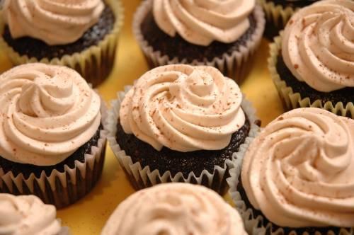 Cupcake al cioccolato deliziosi