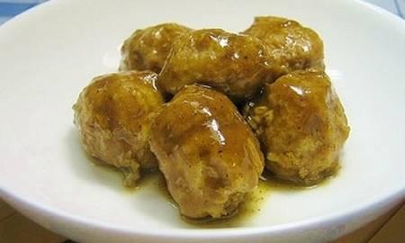 Polpette di carne al curry
