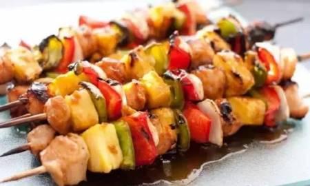 Spiedini di Carne e Verdure