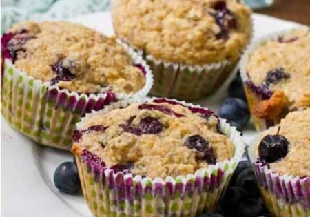 Muffin ai Mirtilli e Banana