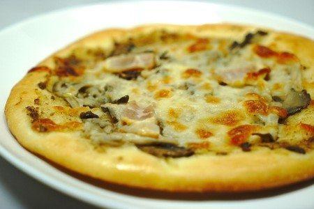 Pizza Rustica con Patate e Funghi