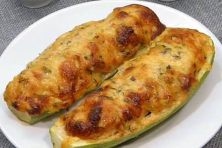Zucchine al forno con besciamella