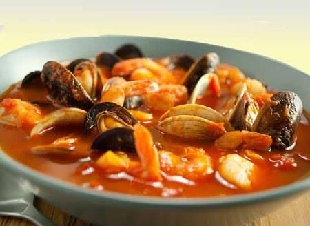 Zuppa di mare alla tarantina