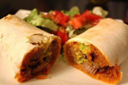 Burritos di manzo Santa Fe ricetta originale messicana