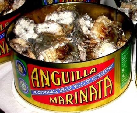 Anguilla marinata di Comacchio