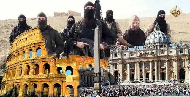 il 23 marzo attacco isis a Roma, la profezia della madonna di Anguera