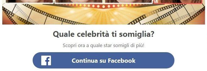 Quale celebrità ti somiglia? Attenzione se avete usato o usate questo tipo di app su facebook