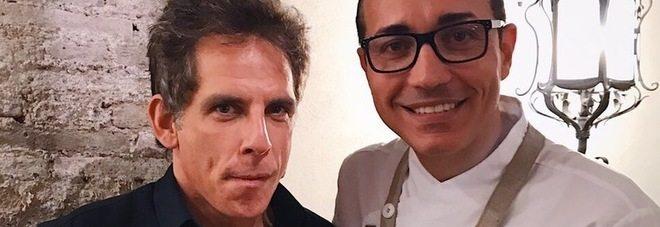 Ben Stiller, da Gino Sorbillo, per mangiare la vera pizza napoletana