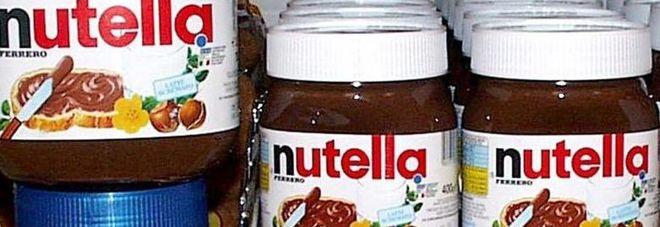 Rubato camion con 70 kg di Nutella, e ovetti kinder