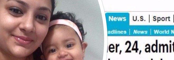 Uccide la figlia di 15 mesi e la getta nel fiume: