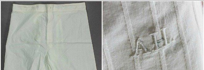 Usa vendute le mutande di Hitler all'asta per una modica cifra di...