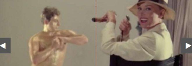 Giancarlo Magalli nudo e coperto d'oro, il passato a luci rosse dello storico conduttore