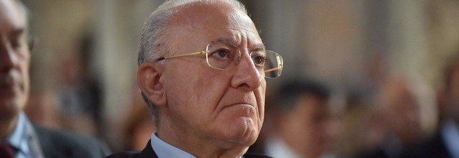 Il governatore De Luca , camorristi da anni sul litorale laziale