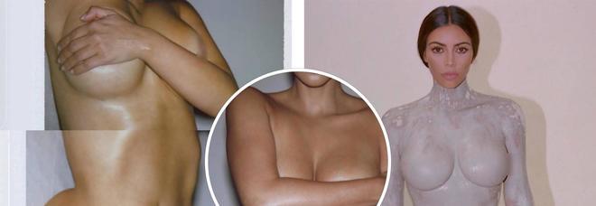 Kim Kardashian posa senza veli per lanciare il suo nuovo profumo