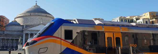 Napoli, i nuovi treni trenitalia