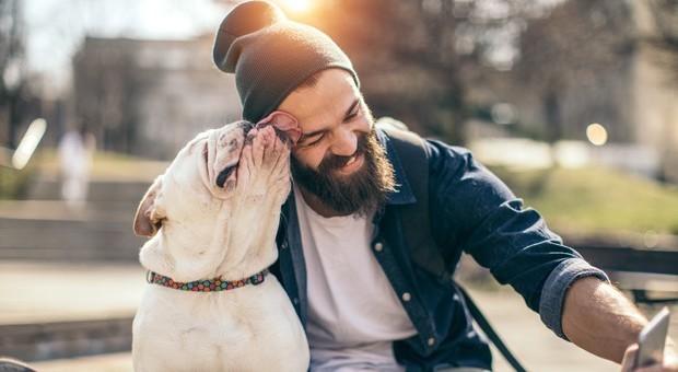 Nella barba maschile ci sono più microbi del pelo del cane