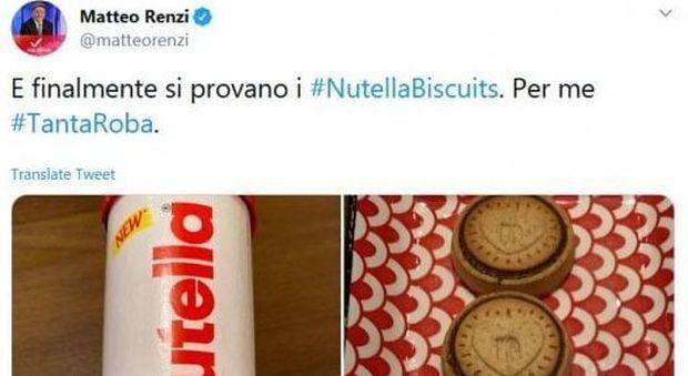Nutella Biscuits, Matteo Renzi e il mistero della confezione a tubo: ecco il perché-LEGGO➥