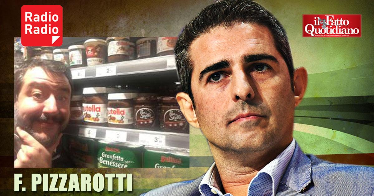 """Pizzarotti: """"Digiuno per Salvini? Gli serve dopo tutta la Nutella e i tortellini che ha mangiato�-ILFATTOQUOTIDIANO➥"""